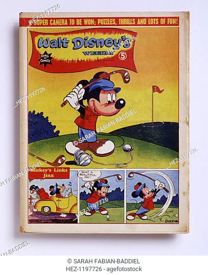Walt Disney's weekly, American, February 20, 1945