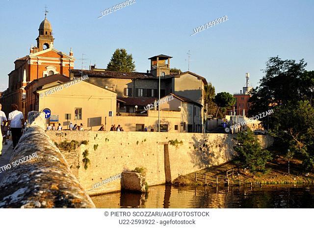 Italy, Emilia Romagna, Rimini, Tiberio...