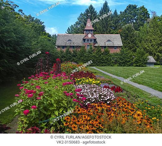 Horse Stable Franklin Delano Roosevelt Estate At Hyde Park, New York
