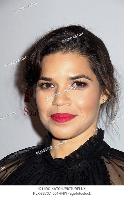 America Ferrera 11/11/2018 The ACLU SoCal's Annual Bill of Rights Dinner held at The Beverly Wilshire Hotel in Beverly Hills