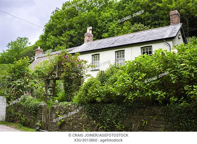 A cottage in the coastal village of Buck's Mills on the North Devon Heritage Coast