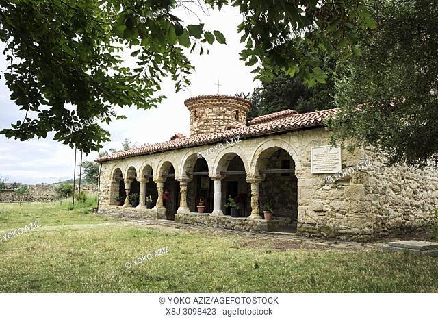 Albania, Vlore, Zvernecit, Fjetja monastery