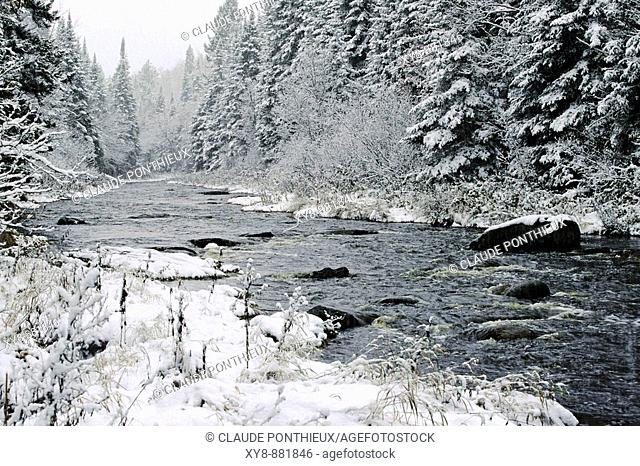 River-and-Snow