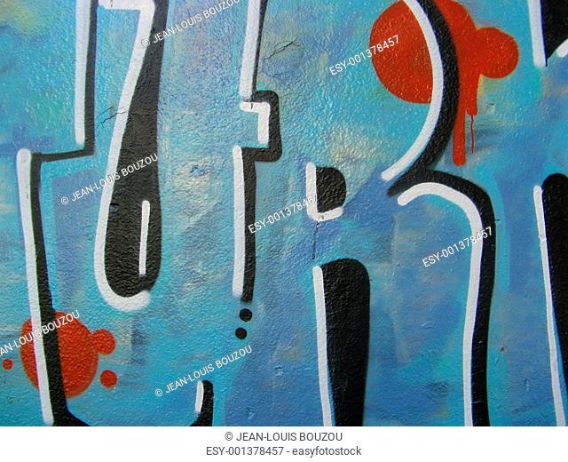 graffiti 3D letters