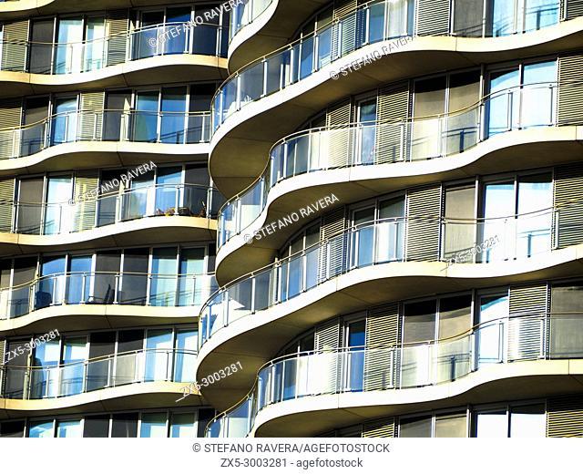Hoola apartments in Royal Docks - London, England