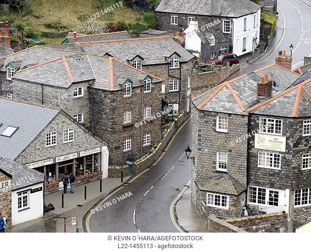 Tintagel is a civil parish and village situated on the Atlantic coast, Cornwall, United Kingdom