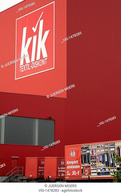 GERMANY,BOENEN, 16.06.2009, Exterior view kik company headquarters. - BOENEN, , GERMANY, 16/06/2009