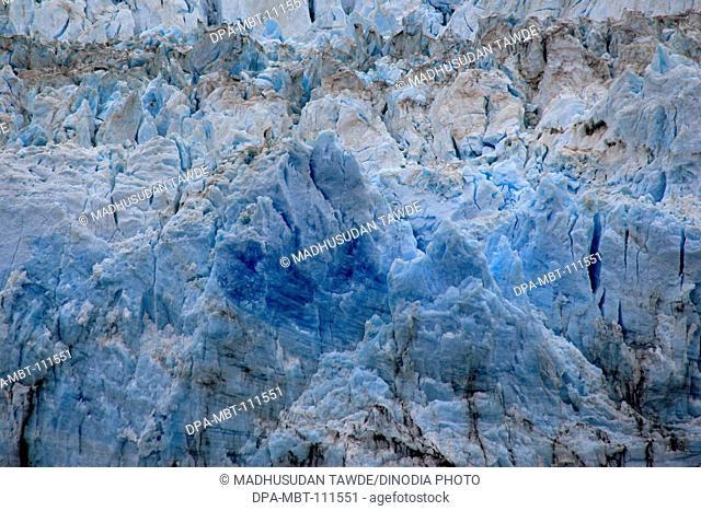 Hubbard glacier ; the longest tidewater glacier in Alaska; Saint Elias  national park ; disenchantment bay ; Alaska ; U.S.A. United States of America