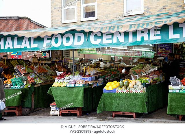Halal Food Centre on Upper Tooting Rd in London SW17 - UK