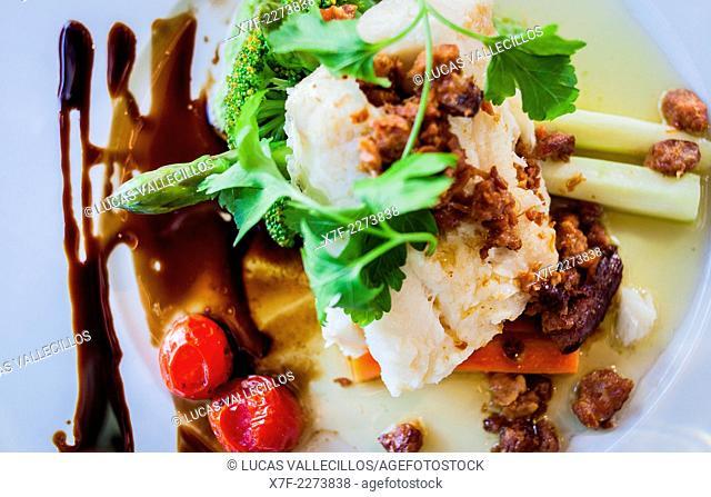 Bacalao,codfish, XL Diner, skaregata 1A, Alesund, More og Romsdal, Norway