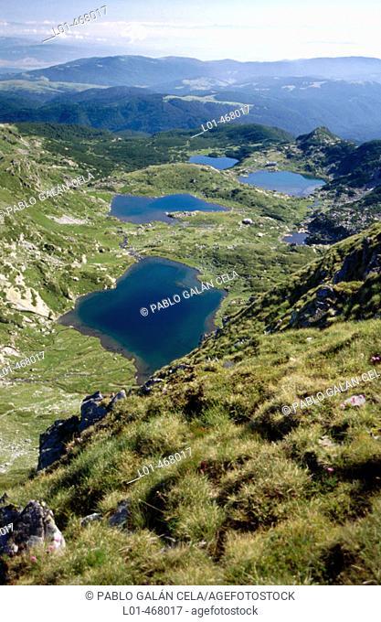 Rila National Park. Seven Lakes. Bulgaria