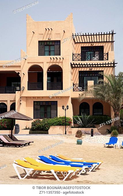 Novotel resort hotel, beach, Manama, Bahrain