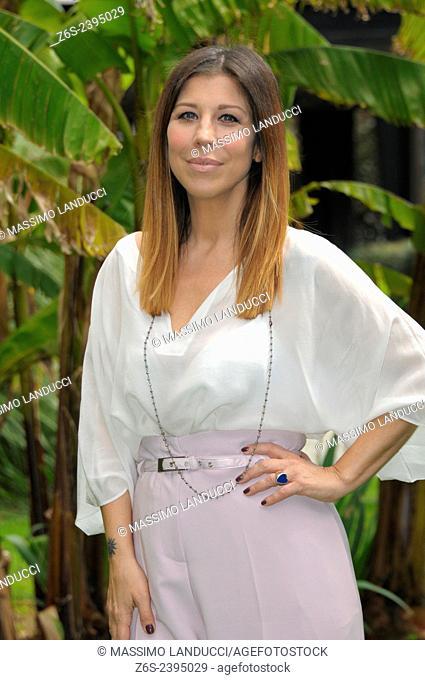 Michela Andreozzi; Andreozzi; actress; celebrities; 2015;rome; italy;event; photocall; una casa nel cuore