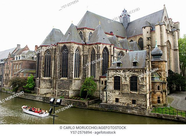 Saint Michael's Church, Ghent, Belgium, Europe
