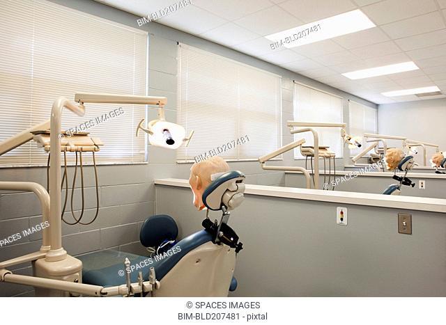 Shot of Room in Dental School