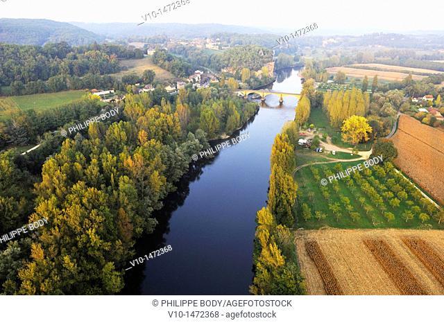 France, Perigord, Dordogne, the Dordogne river near Vitrac