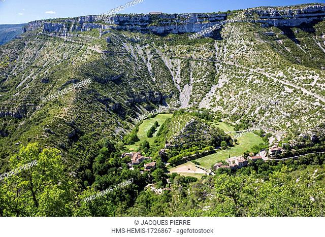 France, Gard, the Causses and the Cevennes, Mediterranean agro pastoral cultural landscape, listed as World Heritage by UNESCO, Blandas, Navacelles circus