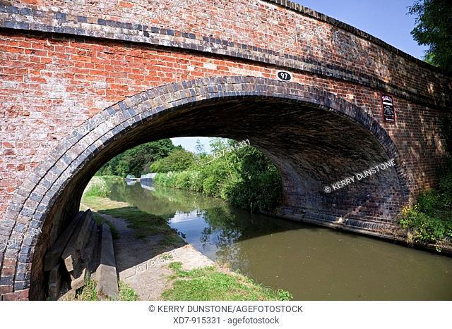 England Northamptonshire Braunston Oxford Canal with bridge No  97