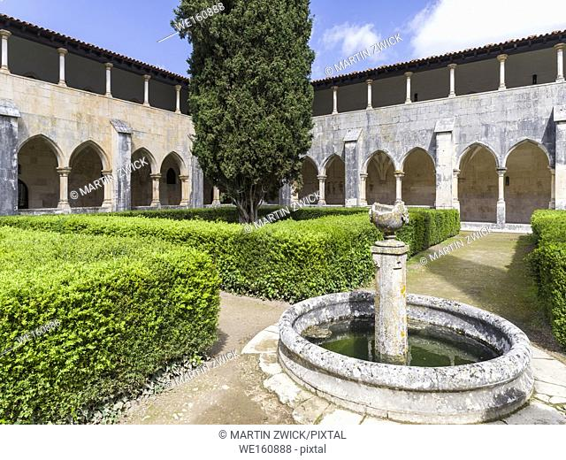 Cloister of king Afonso V. The monastery of Batalha, Mosteiro de Santa Maria da Vitoria, listed as UNESCO world heritage site