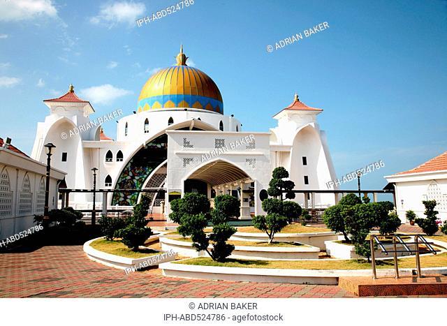 Malaysia Malacca (Also spelt Melaka) The Malacca Straits Mosque