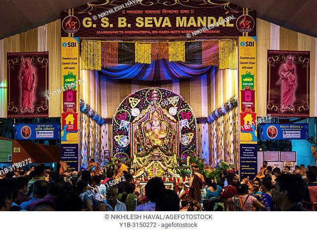 GSB Seva Mandal, Ganesh Festival 2017, Mumbai, India