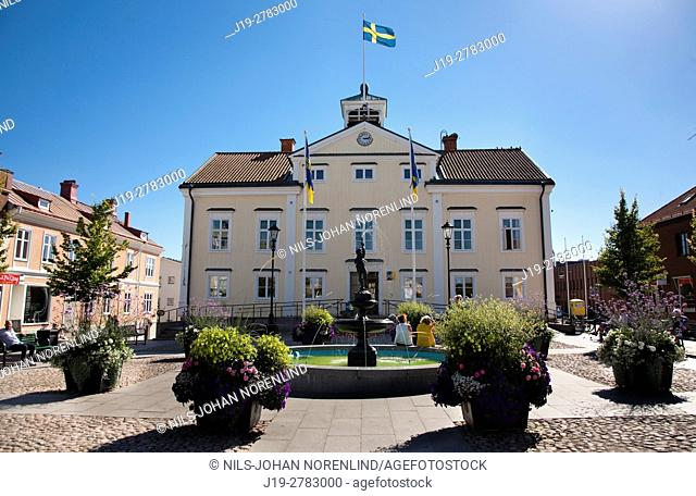 Town hall Vimmerby, Sweden