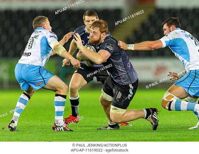 2015 Guinness Pro 12 Ospreys v Glasgow May 8th. 08.05.2015. Swansea, Wales. Guinness Pro12, rugby, Ospreys versus Glasgow