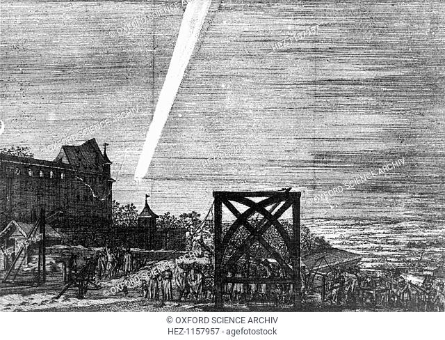 Comet of December 1680 (Kirch), 1681. Isaac Newton calculated that the comet was travelling at 88,000 mph and that it passed so near the Sun that at one time it...