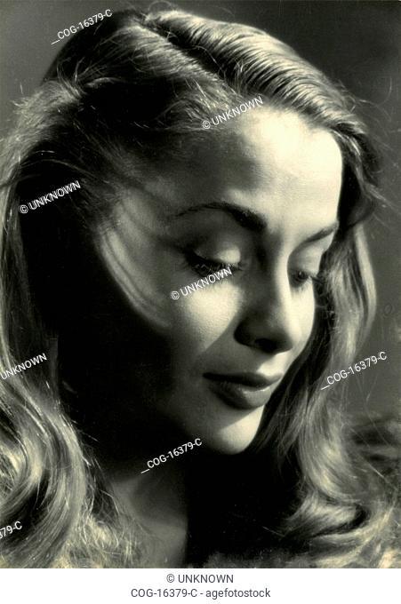 Italian actress Giuliana Tinelli