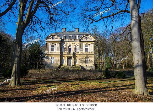 Historic mansion at Wassenaar Holland