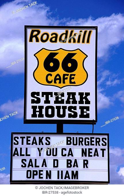 USA, United States of America, Arizona: Historic Route 66, near Seligman