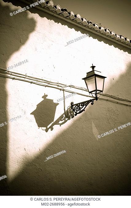 Wall detail in Granada, Andalusia, Spain