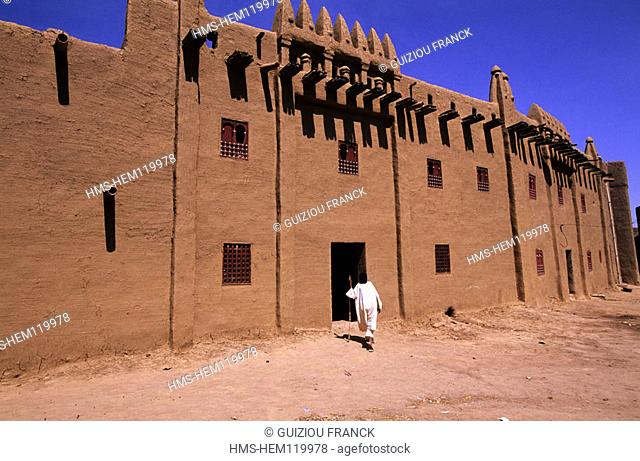 Mali, Djenne (UNESCO World Heritage), the Koranic school in the old town