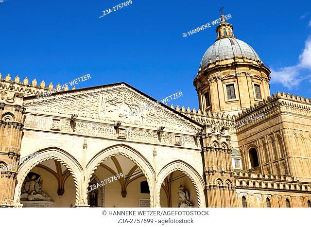Palermo Cathedral, Palermo, Sicily, Italy, Europe