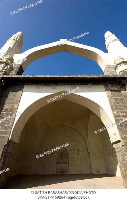 Kamani masjid on Shivneri fort ; Taluka Junnar ; district Pune ; Maharashtra ; India