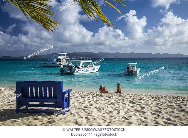British Virgin Islands, Jost Van Dyke, White Bay, White Bay Beach