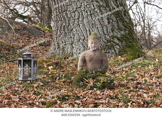 Image of Buddha. Sweden