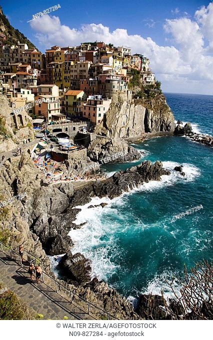 Manarola, Cinque Terre. Liguria, Italy