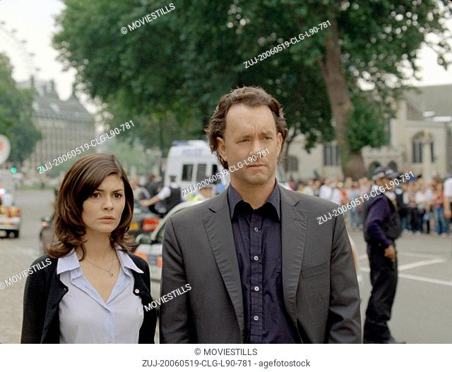 May 19, 2006; Paris, FRANCE; Actor TOM HANKS stars as Robert Langdon and AUDREY TAUTOU as Sophie Neveu in the Ron Howard directed adaptation of Dan Brown's