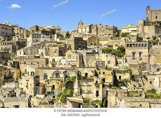 European Cultural Capital 2019, Sassi of Matera, Matera, Basilicata, Italy, UNESCO World Heritage Site