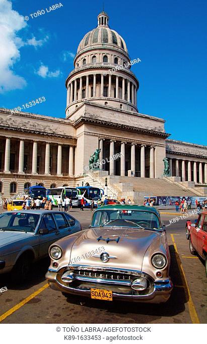 Capitolio  Old Havana  Cuba