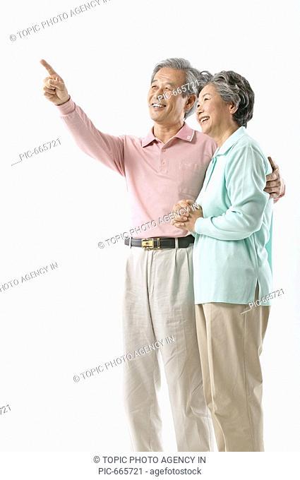 Korean Senior Couple