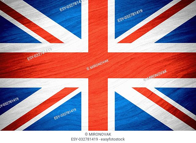 flag of Great Britain or British banner on abstract background, United Kingdom