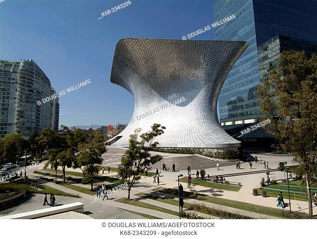 Museo Soumaya and Plaza Carso in Mexico City, Mexico