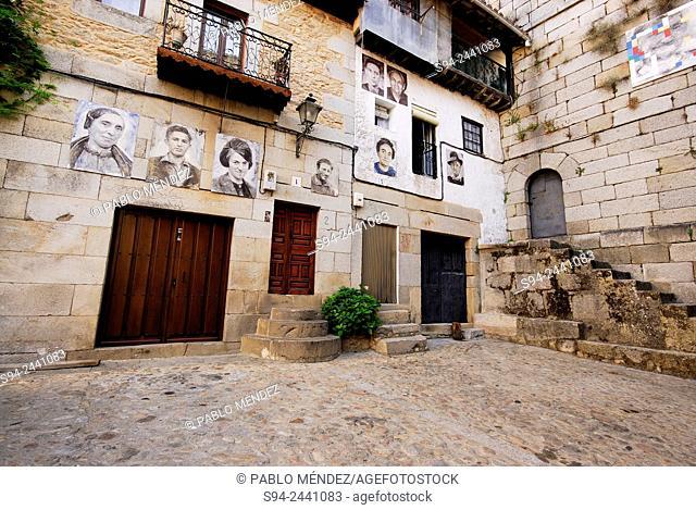 Beautiful corner of Mogarraz, Salamanca, Spain