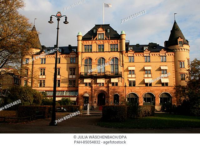 The Grand Hotel in Lund, Sweden, 24 October 2016. The hotel, situated near the university town's central train station, is fully booked for the period of the...