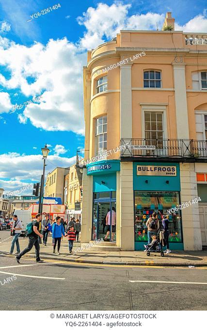 Greenwich town centre, United Kingdom