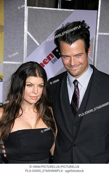 "Stacy 'Fergie' Ferguson, Josh Duhamel 01/27/10 """"When in Rome"""" Premiere @ El Capitan Theatre, Hollywood Photo by Ima Kuroda/HNW / PictureLux (January 27, 2010)"