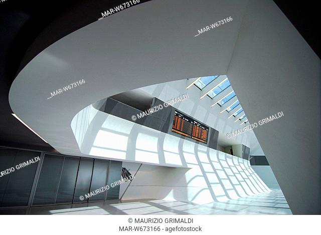 napoli afragola station, architect zaha hadid, afragola, italy