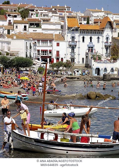 Cadaqués. Costa Brava. Alt Empordà. Girona province. Catalonia. Spain